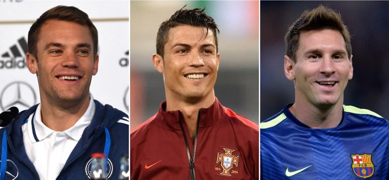Ohne Weltfußballer Ronaldo (Mitte) geht nicht viel (Foto AFP)