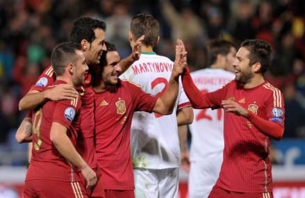 EM-Gruppe C: Spanien hält den Anschluss zur Spitze