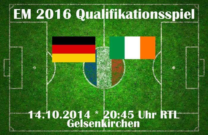 Deutschland Irland Anschauen Em Quali Live Schauen Dfb
