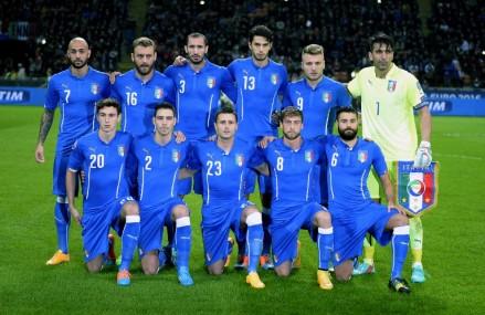 1:1 zwischen Italien gegen Kroatien kurz vorm Abbruch