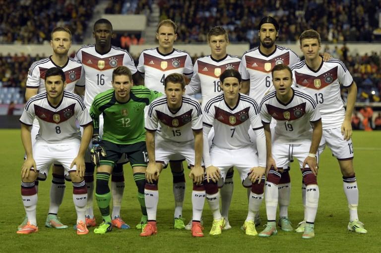 Deutschland Polen Anpfiff