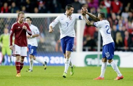 EM Gruppe I: Portugal mit Mühe zum Sieg