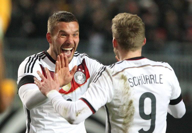 Lukas Podolski EM 2016 Trikot
