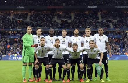 Aufstellung Länderspiel Frankreich gegen Deutschland