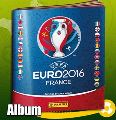 EM 2016 Panini Sammelalbum & Sticker