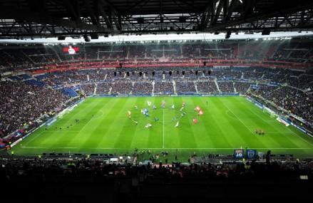 Stade des Lumieres in Lyon eröffnet