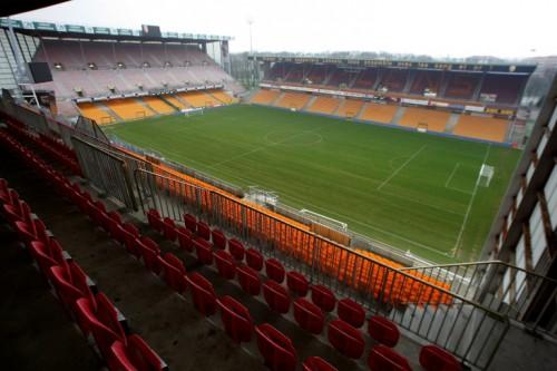 Das Fußballstadion von Lens Stade Bollaert-Delelis. AFP PHOTO DAMIEN MEYER