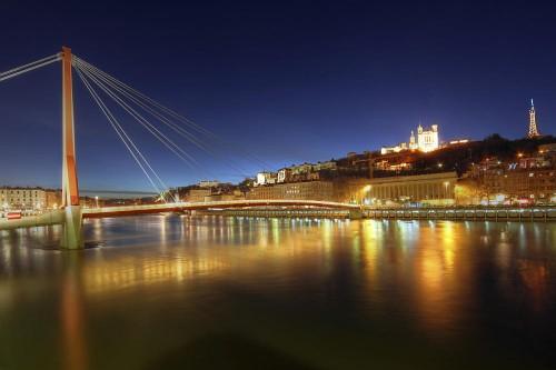 Stadtansicht von Lyon (istockphoto.com)