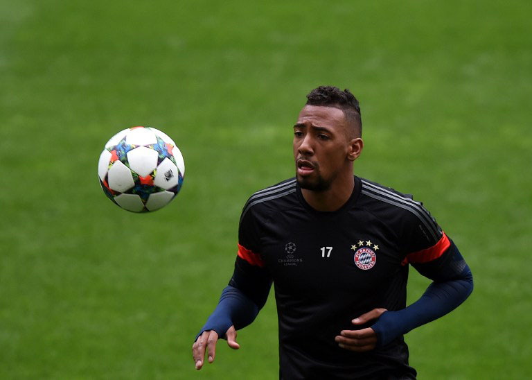 Bayern's Innenverteidiger Jerome Boateng in der Champions League. AFP PHOTO / FRANCISCO LEONG / AFP / FRANCISCO LEONG