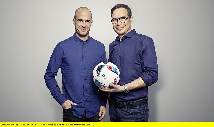 Matthias Opdenhövel und Mehmet Scholl (ARD Presse)
