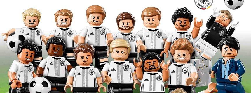 Die Fußball Nationalmannschaft Als Lego Figuren