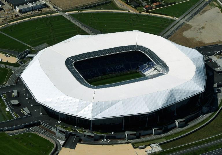 """Lyon """"Parc Olympique Lyonnais"""" bekannt al"""