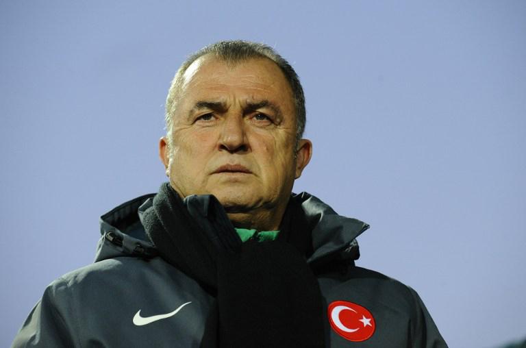 Der türkische Trainer Fatih Terim