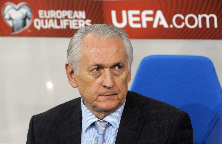 Mikhail Fomenko: Nationaltrainer  von der Ukraine
